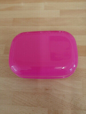 Soap Box Dish With Secure Lid Colour Pink • 2.90£