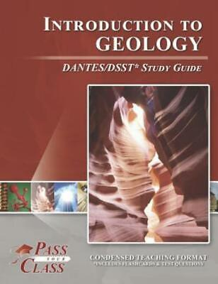 £33.60 • Buy Introduction To Geology Dantes / Dsst Study Guide