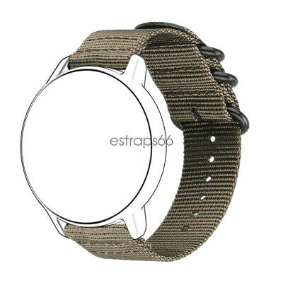 $8.99 • Buy Quick Fit Universal 18mm 20mm 22mm Durable Military Woven Nylon Watch Band Strap