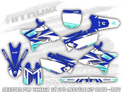AU218.90 • Buy Yamaha YZ 125 250 UFO RESTYLE KIT 2002 - 2009 2010 2011 2012 2013 2014 Graphics