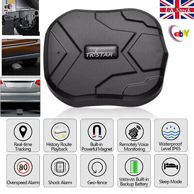 TK905 Magnetic Car Vehicle GPS Tracker Locator GSM GPRS Tracking Device Hidden • 35.98£