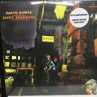 David Bowie - Rise And Fall Of Ziggy Stardust : New Gold Vinyl Lp : New & Sealed • 21.99£