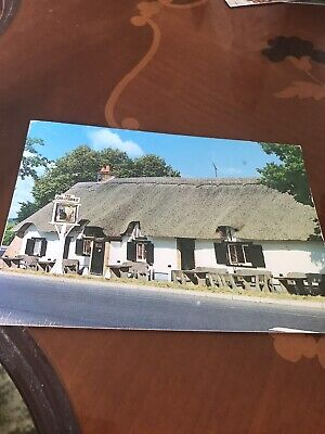 The Cat And Fiddle Inn New Forest Dorset 1994 Postcard  • 1£