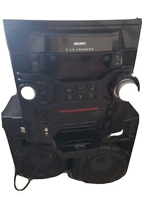 Bush 5 CD Changer Mini System With Ipod/older IPhone Docking.  • 22£