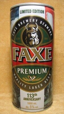 $ CDN28.79 • Buy  FAXE  113 Viking Empty Beer Can Limited Edition