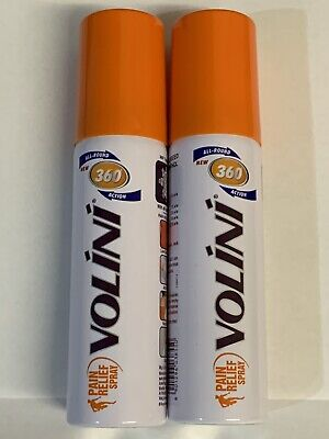 2x Volini Pain Relief Spray Back Joints Arthritis Muscle Moov Deep FREE GEL 4g • 13.99£