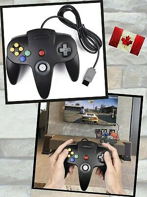 $ CDN29.29 • Buy Gamepad Joystick Wired Game Controller For Retro Classic N64 Video System Games
