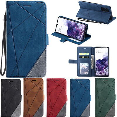 $ CDN6.25 • Buy For Samsung Galaxy Note 20 S20 Ultra S10 S9 Wallet Flip Leather Phone Case Cover
