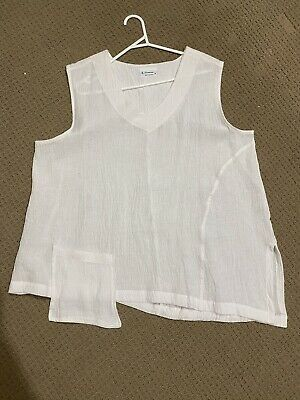 AU30 • Buy J Generation White Sleeveless Top Size 18