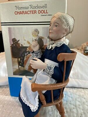 $23.20 • Buy Norman Rockwell Character Doll Molly New Never Displayed