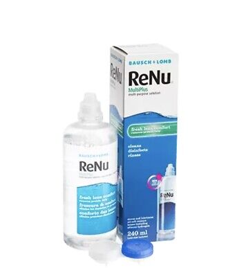 ReNu (MultiPlus) Solution 240ML With Contact Lens Case BAUSCH • 9.99£