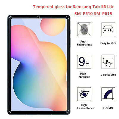 $ CDN6.06 • Buy Tempered Glass Screen Protector For Samsung Galaxy Tab S6 Lite SM-P610/P615 2020