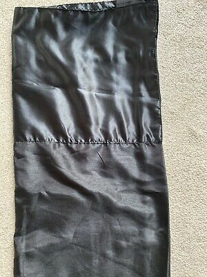 Black Lined Curtains From Next Size 135 X 183 Cm Rod Pocket • 7.99£