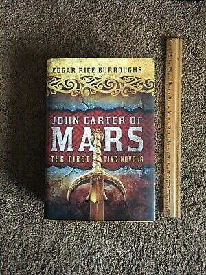 $19.99 • Buy John Carter Of  Mars: The First Five Novels ~By Edgar Rice Burroughs ~ HB W/ DJ