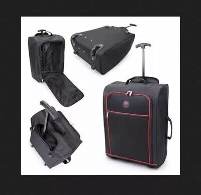 Cabin Approved New Wheeled Hand Luggage On Board Travel Case Trolley Holdall Bag • 14.99£