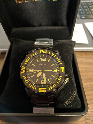 $ CDN250 • Buy Seiko 5 Sports Men's Automatic SRP449 Water Resistant 42mm Smooth Rotating Bezel