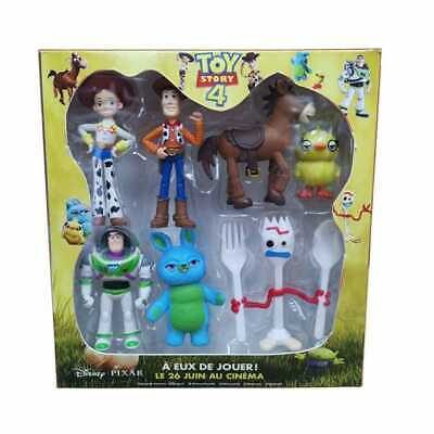 7 PCS Toy Story Woody Bulleye Buzz Lightyear Action Figure Kids Toys Cake Topper • 10.99£