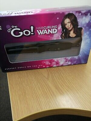 Yogi On The Go - Hair Curling Wand With Safety Glove - Brand New In Box • 10£
