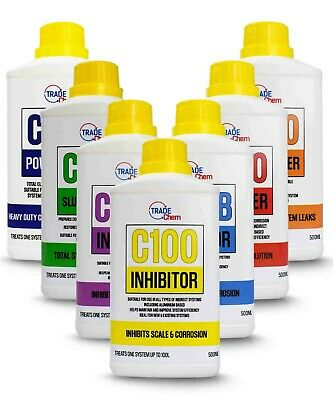Central Heating Concentrated Inhibitor - Boiler Protector - 500ml-25L Range • 6.99£