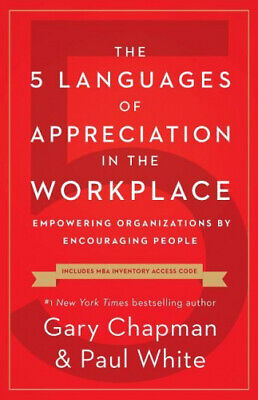 AU19.34 • Buy The 5 Languages Of Appreciation In The Workplace: Empowering Organizations By