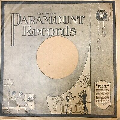 $29.99 • Buy 78rpm Paramount Record Sleeve - Sleeve Only, Single Sided Graphic