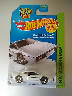 $ CDN1.46 • Buy Lotus Esprit S1 Hot Wheels New For 2015 James Bond 007