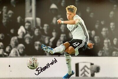 """£13 • Buy Jay Stansfield Hand Signed 12x8"""" Fulham FC Photograph Autograph Memorabilia"""
