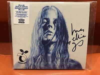 Brand New Sold Out Limited Edition Ellie Goulding Brightest Blue Hand Signed Cd • 13.95£