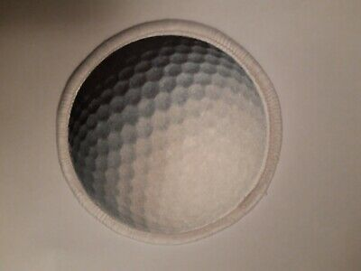 Golf Ball 3  Sublimation Iron Or Sew On Patch Badge Bag Kit Clothing  • 3.89£