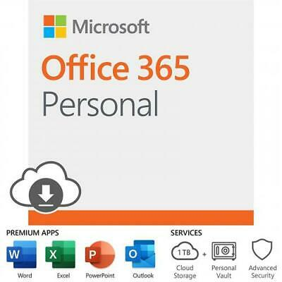 AU96.94 • Buy Microsoft Office 365 Personal 15 Months Subscription ESD License,