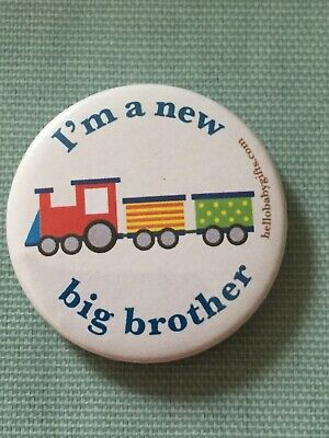 £2.50 • Buy Big Brother Childrens Badges Free Shipping Gift New Baby