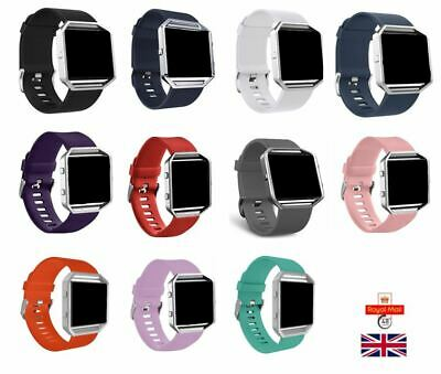 $ CDN5.87 • Buy For FITBIT BLAZE STRAP Replacement Strap Wrist Band Various Colour UK Seller