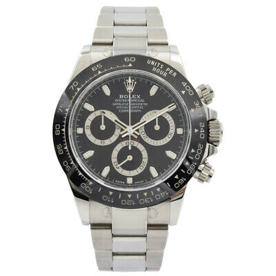 $ CDN32706.26 • Buy Rolex Daytona 116500LN Black Dial With Black Ceramic Bezel - 40mm