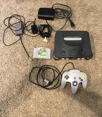 $ CDN88.32 • Buy Nintendo 64 N64 Game Console System Bundle. Tested And Working. Super Mario 64