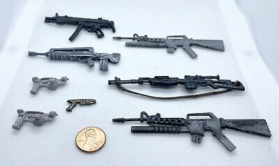 $ CDN34.02 • Buy Marvel Legends G.I. Joe Weapons Guns Rifles Accessories Custom Fodder 1:12 Scale