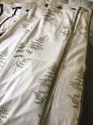 """Lined Next Eyelet Curtains 66""""x72"""" • 15£"""