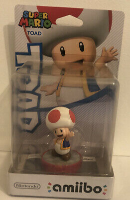 AU20 • Buy Amiibo Region Free Toad Super Mario Bros Series NEW VERY RARE