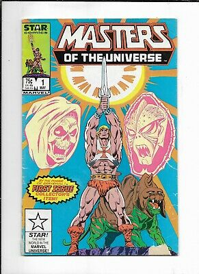 $5 • Buy Masters Of The Universe #1 ( Marvel 1986 ) GD/VG