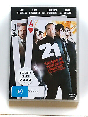 AU8.70 • Buy 21 DVD - Kevin Spacey- Like New
