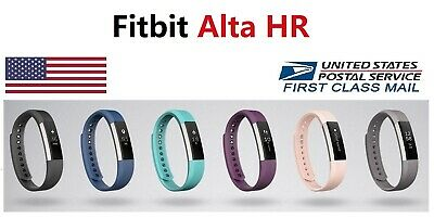 $ CDN99.39 • Buy Fitbit Alta HR FB408 Smart Fitness Activity Tracker Wristband Small Large
