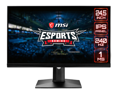 AU615 • Buy MSI G-SYNC FLAT PANEL, RGB, 240Hz - MAG251RX