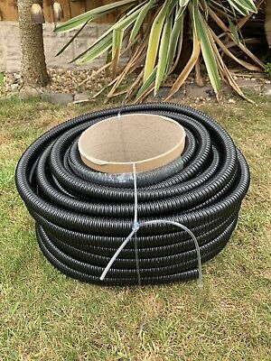 5 Metres Of Caravan Motorhome Convoluted Waste Water Hose Pipe 3/4  20mm • 12.98£