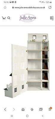 Dolls House 1/12th Scale. The Laurels. VGC. Working Lights. Lots Of Furniture. • 150£