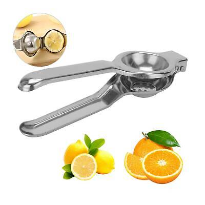 Stainless Steel Home Kitchen Lemon Lime Squeezer Juicer Manual Hand Press Tool • 5.39£