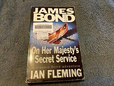 On Her Majesty's Secret Service By Fleming, Ian Paperback Book The Cheap Fast • 3.99£