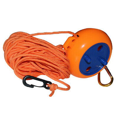 Windproof Clothesline Outdoor Travel Retractable Rope Washing Line 8m Orange • 6.94£