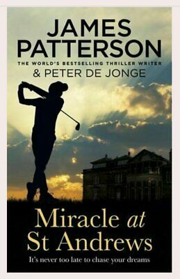 AU27 • Buy Miracle At St Andrews By James Patterson - Paperback - FREE POSTAGE