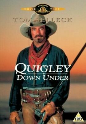 Quigley Down Under Dvd Tom Selleck Brand New & Factory Sealed (1990) • 14.95£