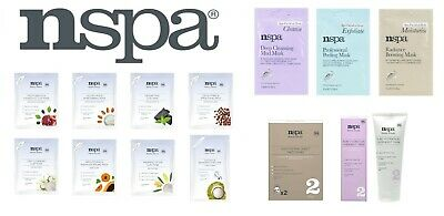 NSPA Beauty Rituals Face Mask Collection Facial Care Routine At Home 15ml • 1.99£