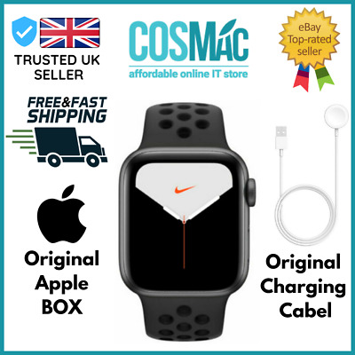 $ CDN562.67 • Buy Apple Watch Series 5 Nike+GPS Only, 44mm, Space Gray Aluminum, Anthracite Black